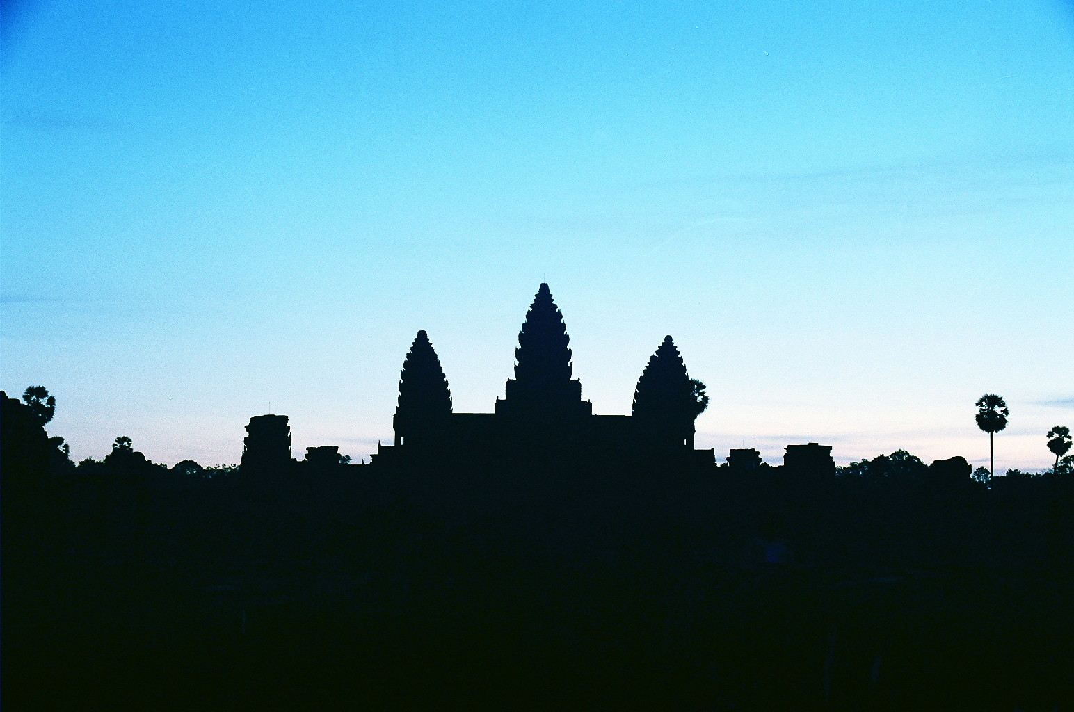 Temples of Angkor at sunrise